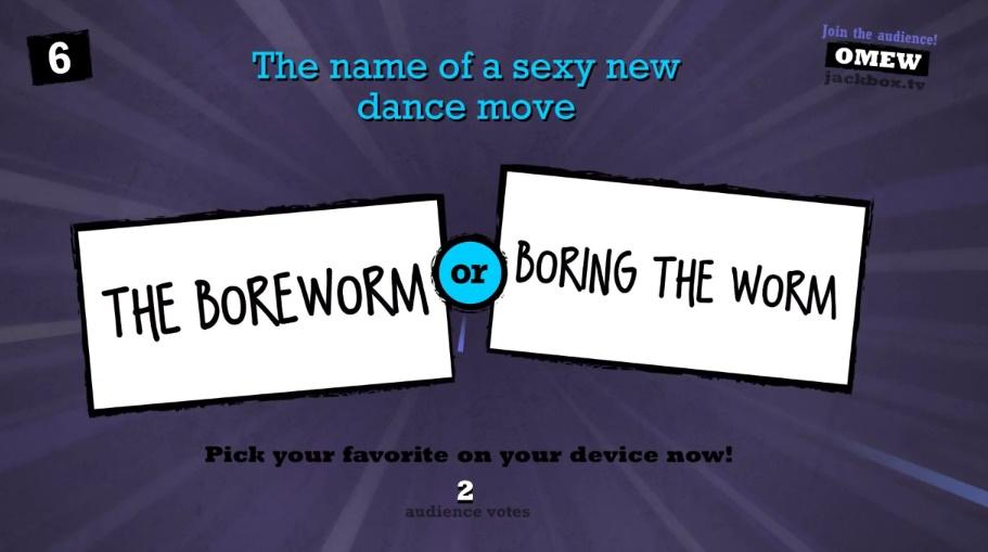 the boreworm dance
