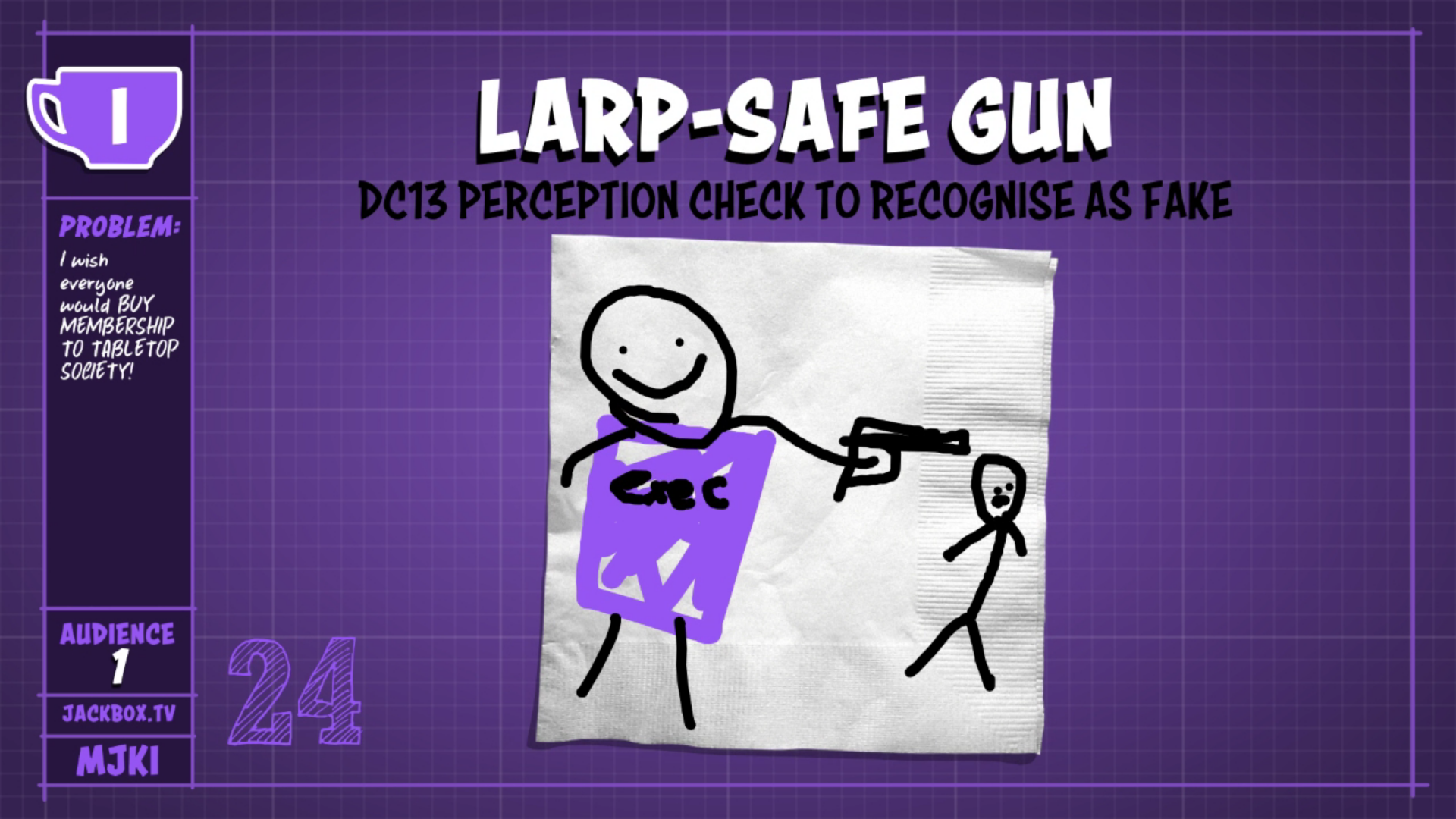 larp-safe gun