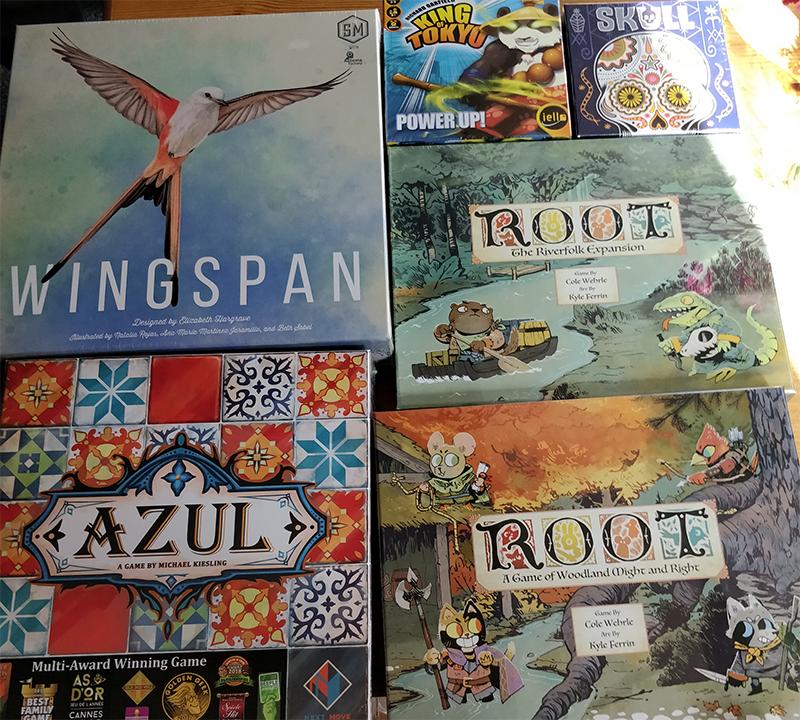 zatu board game haul!