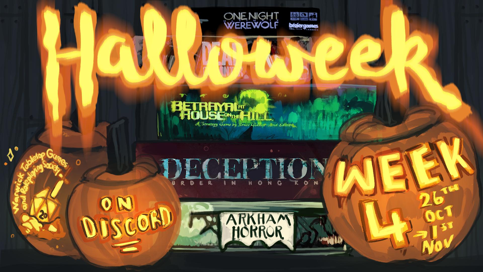 halloweek poster