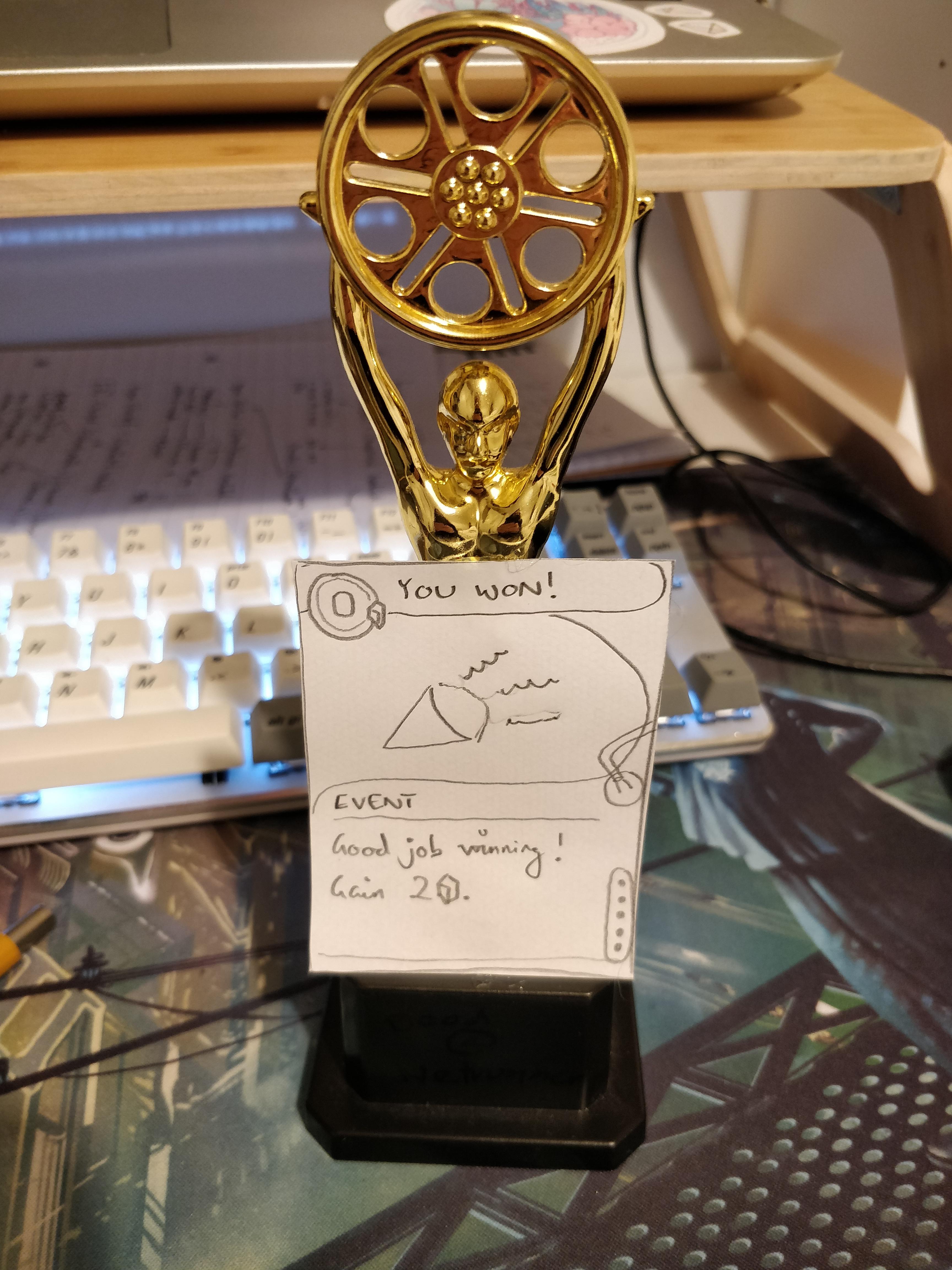 netrunner trophy