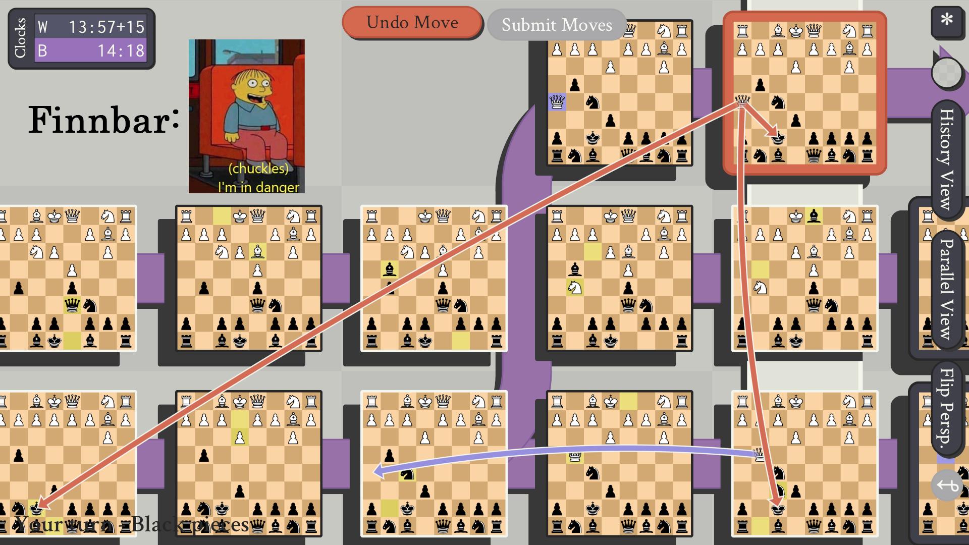 5d chess journey pt 4 finnbar's struggle