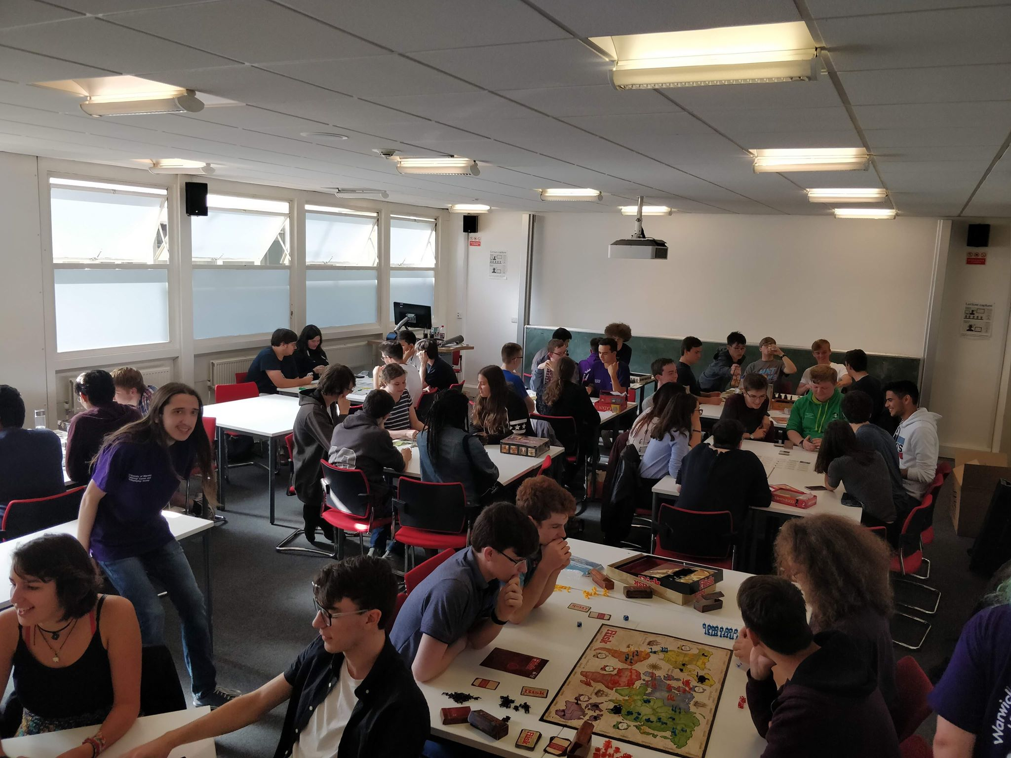 Welcome Week Boardgames (2018)