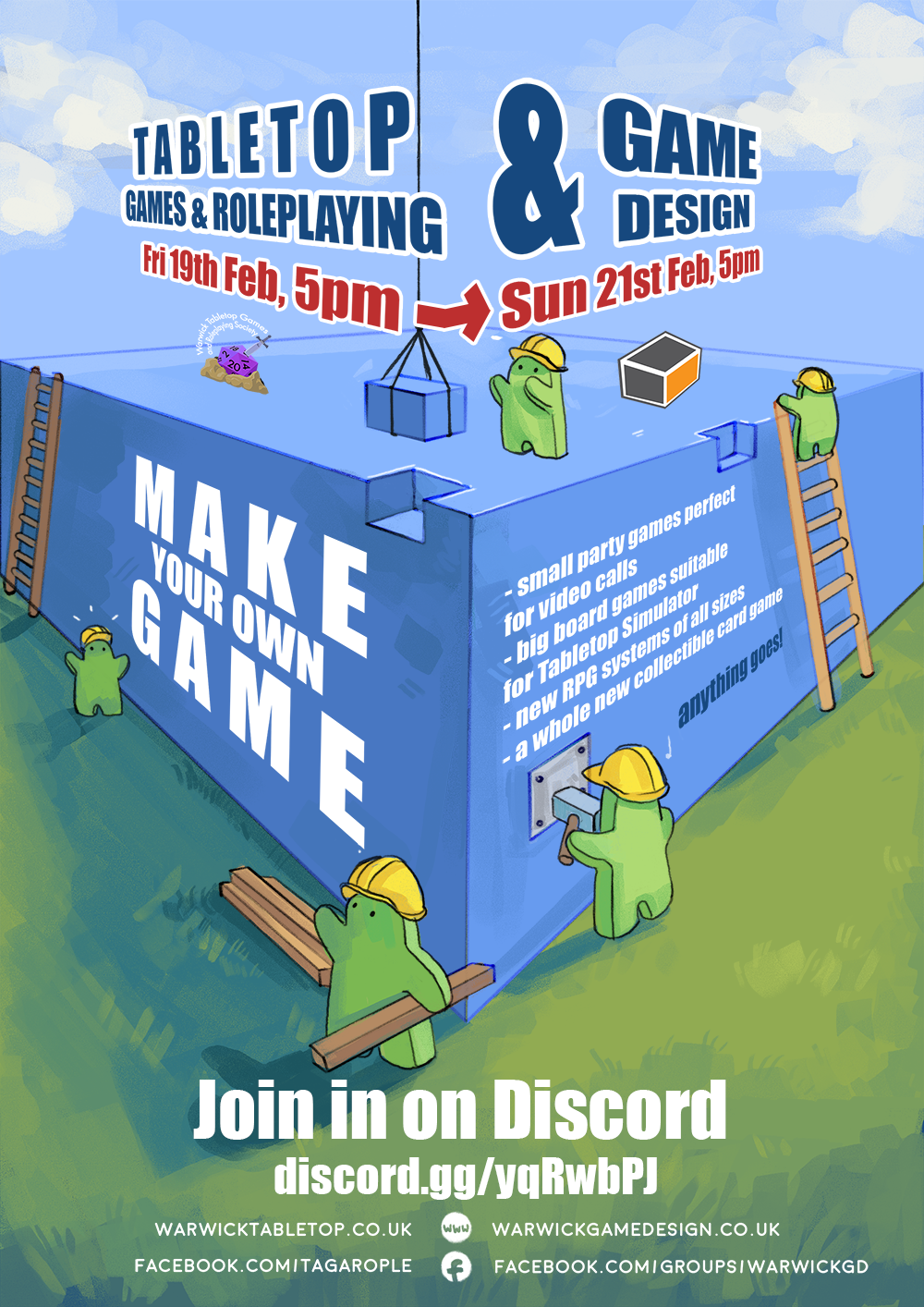 Game Design Collab Poster