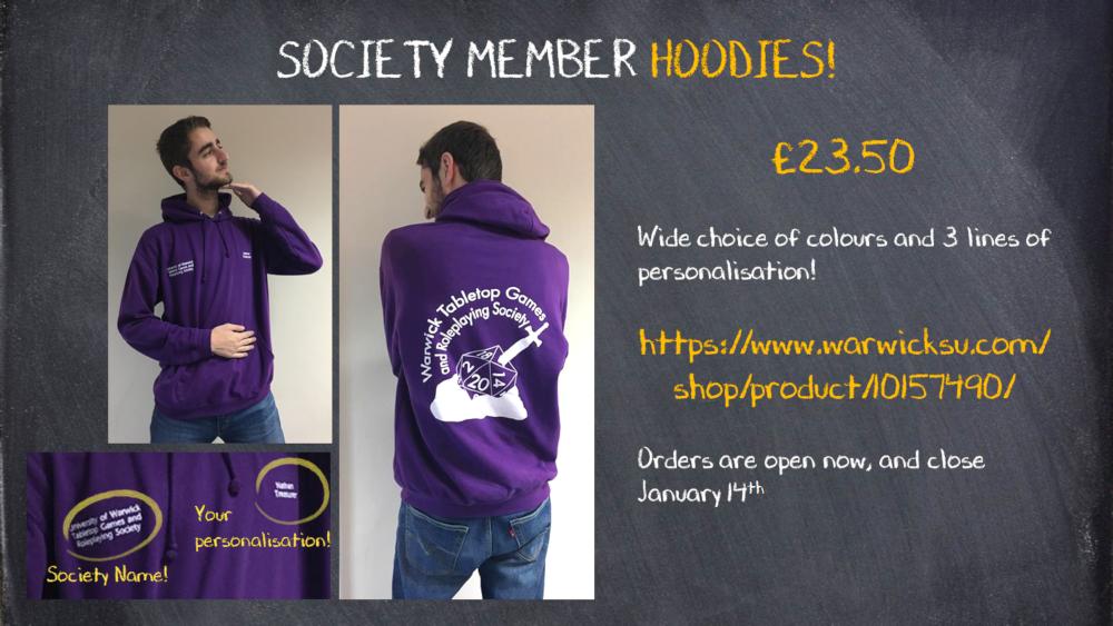 Hoodie orders