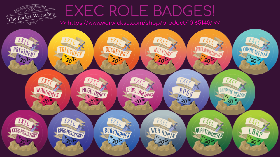 Ex-Exec Badges Advert
